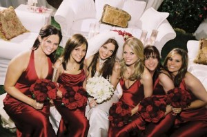 In Style: Celebrity Weddings (ABC) TV special January 27, 2005 Shown: (center) Britney Spears, bridesmaids