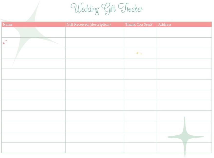 Wedding Gift Tracker jpg
