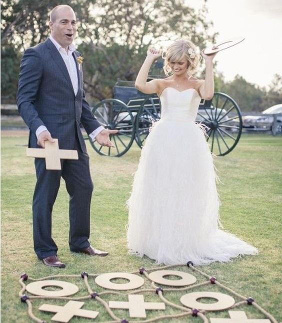 wedding lawn game