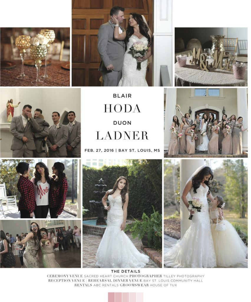 Wedding Gowns St Louis: Friday's Featured Wedding: Blair Hoda & Duon Ladner