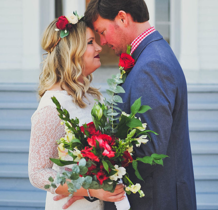 Ashleigh Elkins + Colin Knight Wed In Oxford, Mississippi