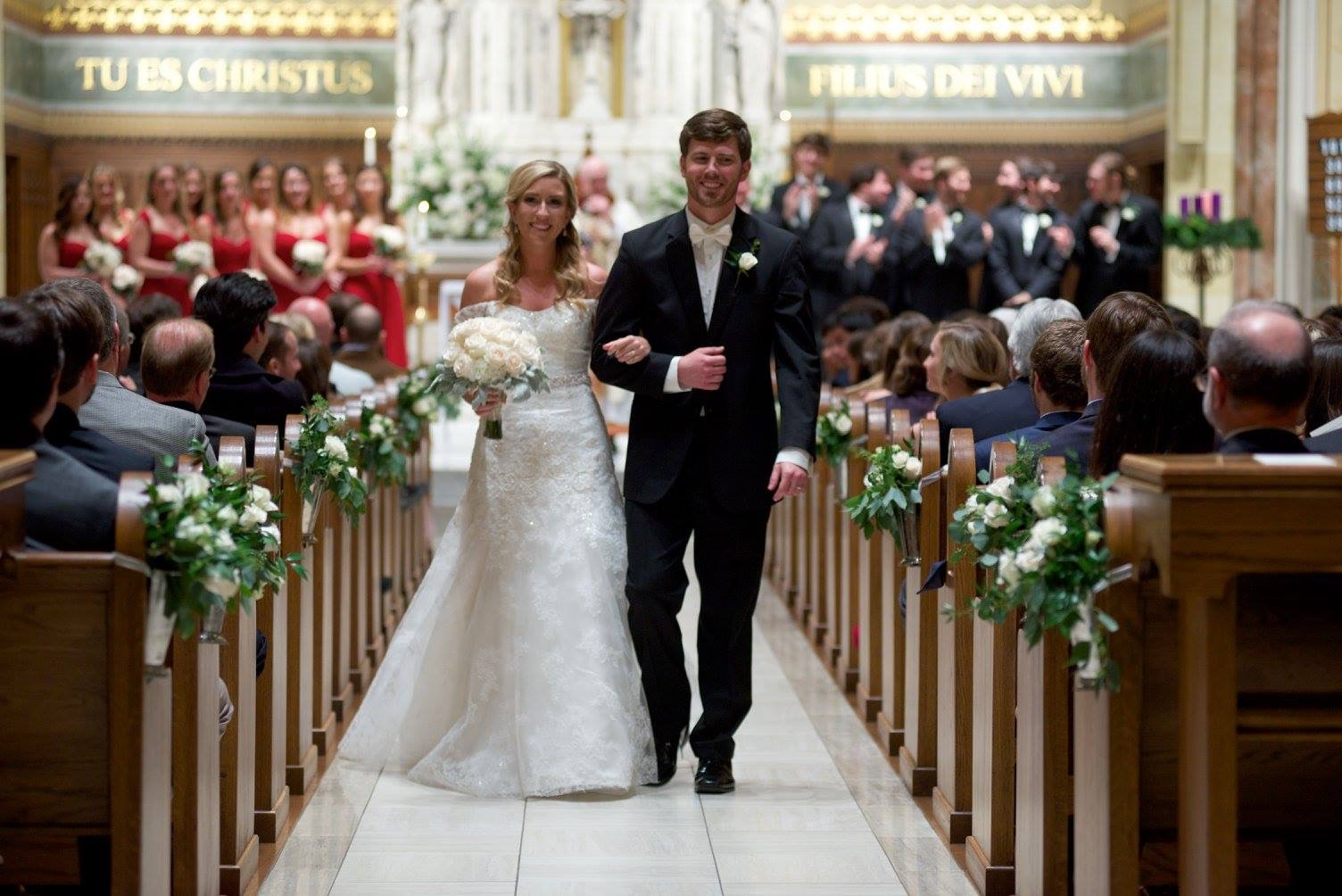 Wedding Invitations Jackson Ms: Wedding Of Claire Stewart & Michael Harkins
