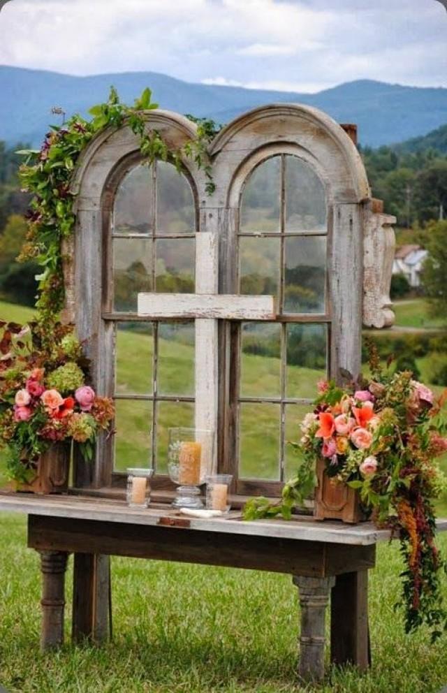 Graceful Cross Altars I Do Y All
