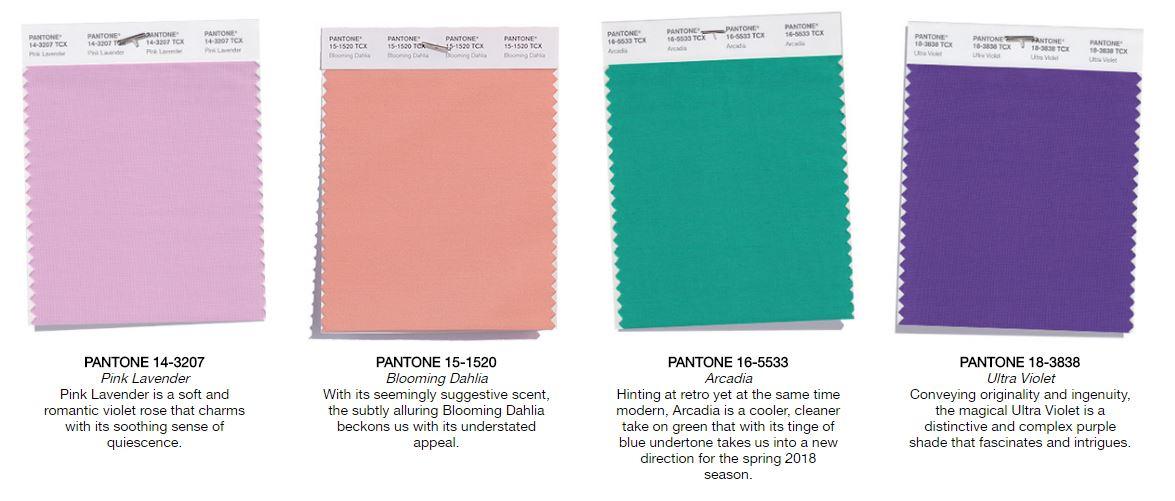 get inspired with pantone 39 s spring color palette for 2018 i do y 39 all. Black Bedroom Furniture Sets. Home Design Ideas