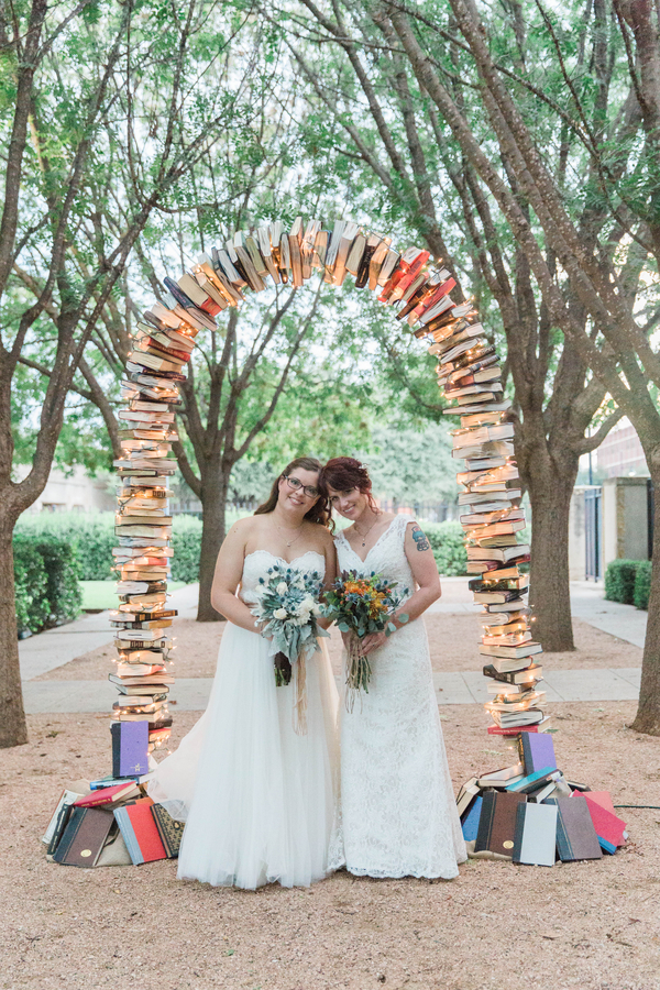 Old Library Themed Wedding Is One For The Books I Do Yall