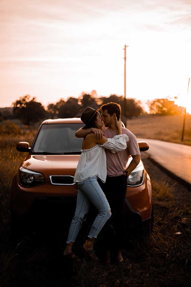 Couple Road Trip | 10 Quarantine Date Ideas for Engaged Couples & Newlyweds | featured on I Do Yall | photo by Lightrise Photography