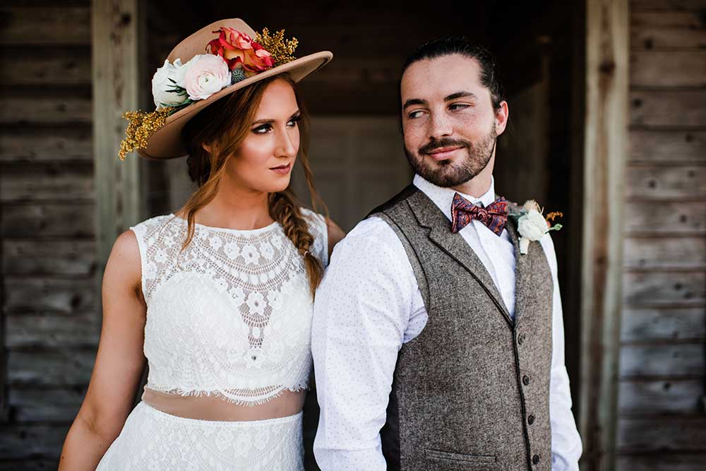 Coastal Country Microwedding Inspiration with a Boho Twist | photo by MBM Photography | featured on I Do Y'all