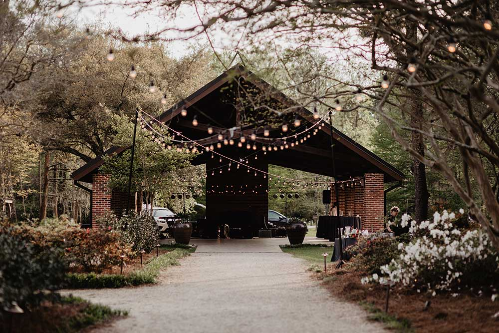 Pavilion Wedding Reception | photo by Emily Green Photography | featured on I Do Y'all
