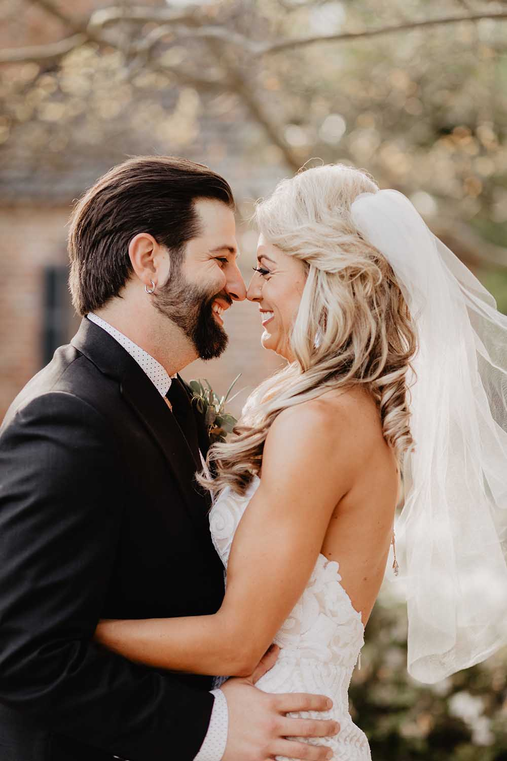 Fun Louisiana Wedding Couple | photo by Emily Green Photography | featured on I Do Y'all