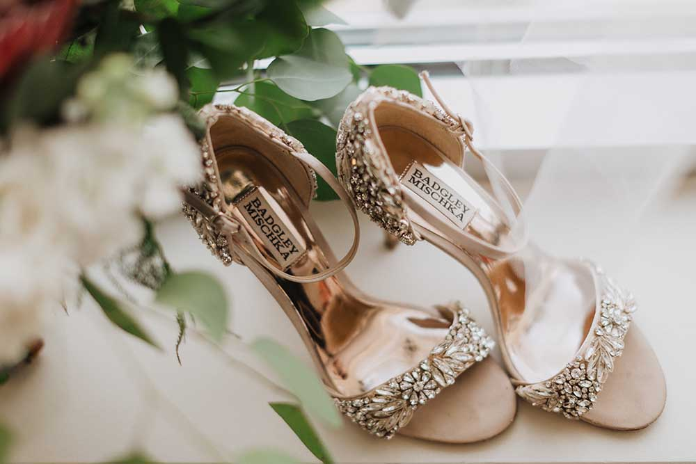 Jeweled Badgley Mishcka Pink Heels | photo by Emily Green Photography | featured on I Do Y'all