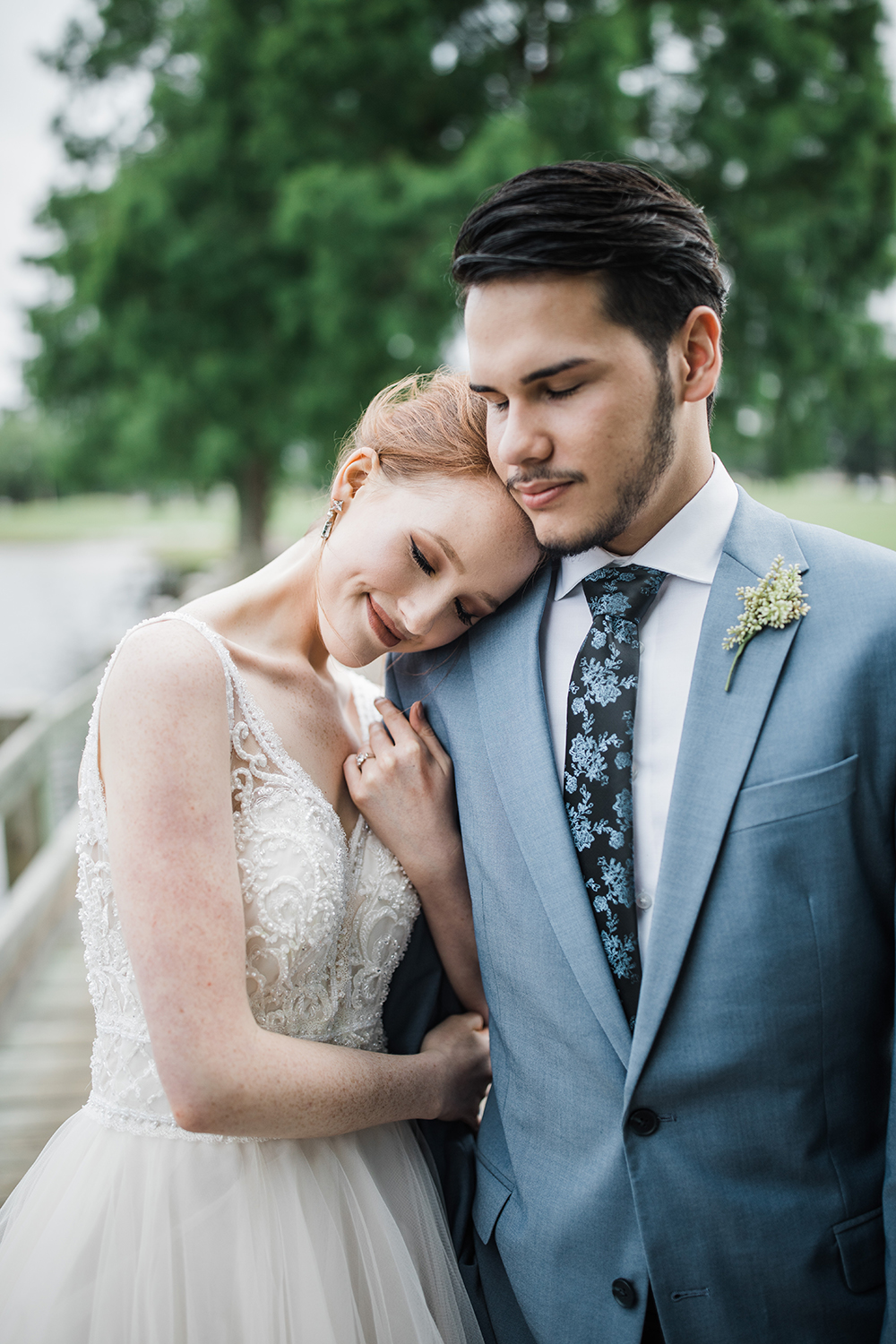 Timeless Blue Wedding Inspiration | photo by Ash Simmons Photography | featured on I Do Y'all
