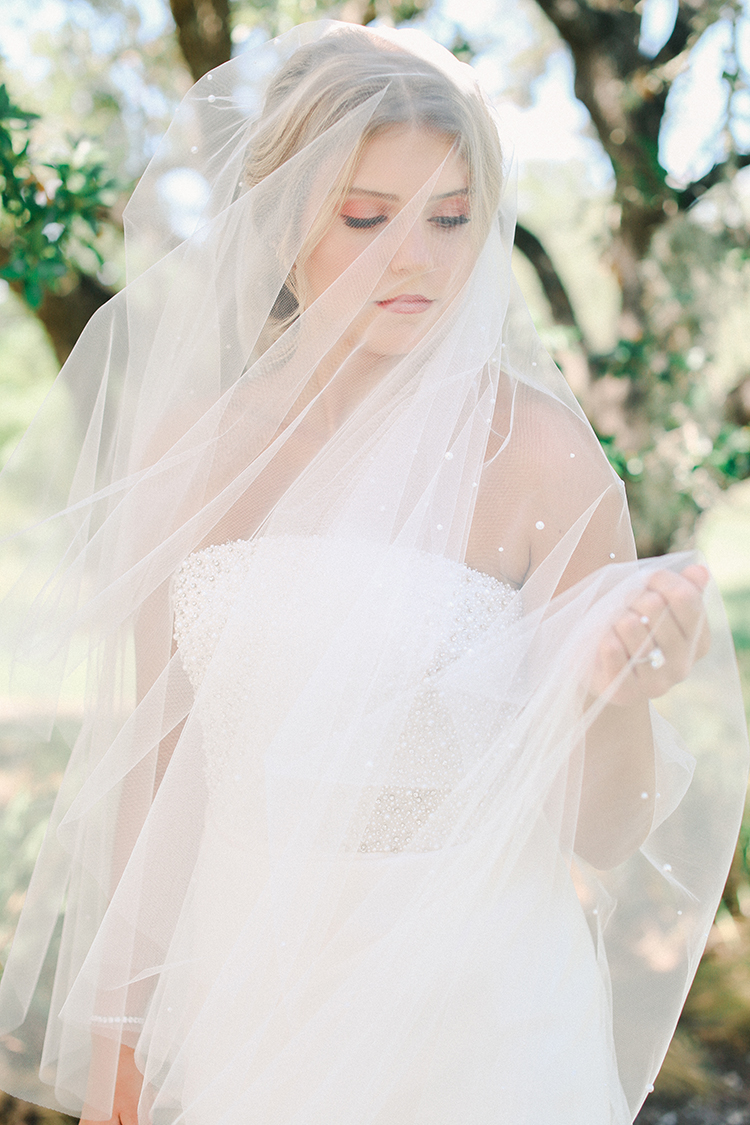 Pearled Wedding Veil | photo by Pendo Photography | featured on I Do Y'all