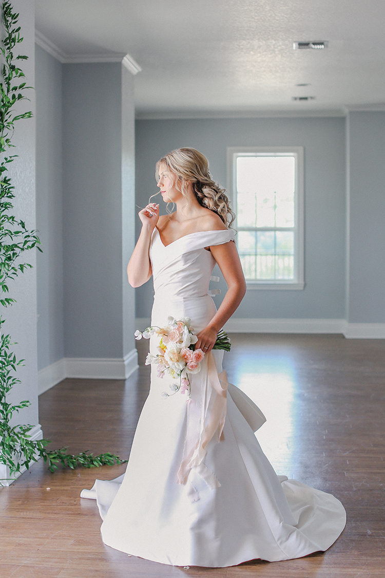 Classic Wedding Dress for Modern Wedding | photo by Pendo Photography | featured on I Do Y'all