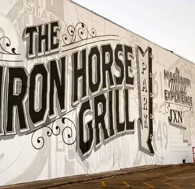 The Iron Horse Grill in Jackson, MS | featured on I Do Y'all