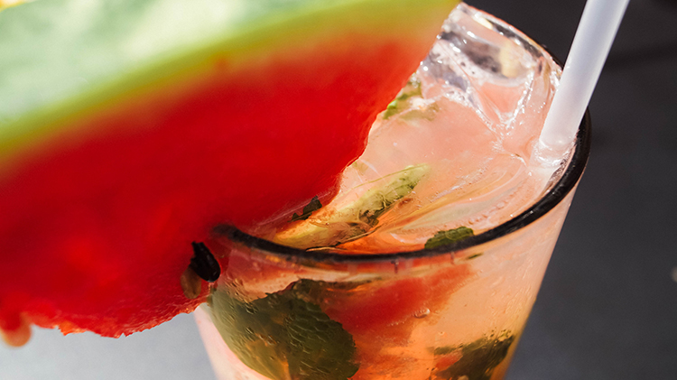 Watermelon Mojito by Iron Horse Bar in Jackson, MS | featured on I Do Y'all