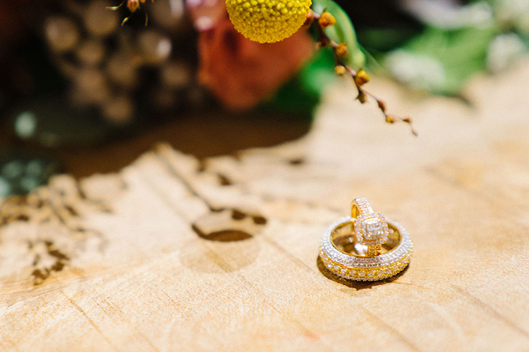 Rold Halo Engagement & Wedding Ring | photo by Staci Lewis Photography | featured on I Do Y'all