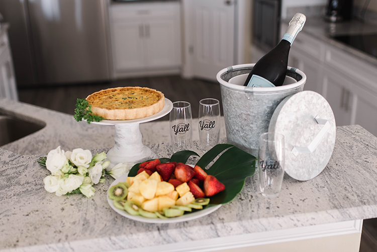 Wedding Brunch at Beach House | photo by Southern Wedding Pixels | featured on I Do Y'all