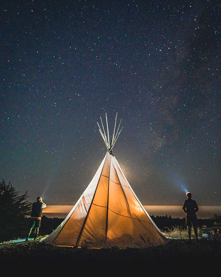 Glamping Honeymoon Idea | Unconventional Honeymoon Ideas | photo by Garrick Sangil | featured on I Do Y'all