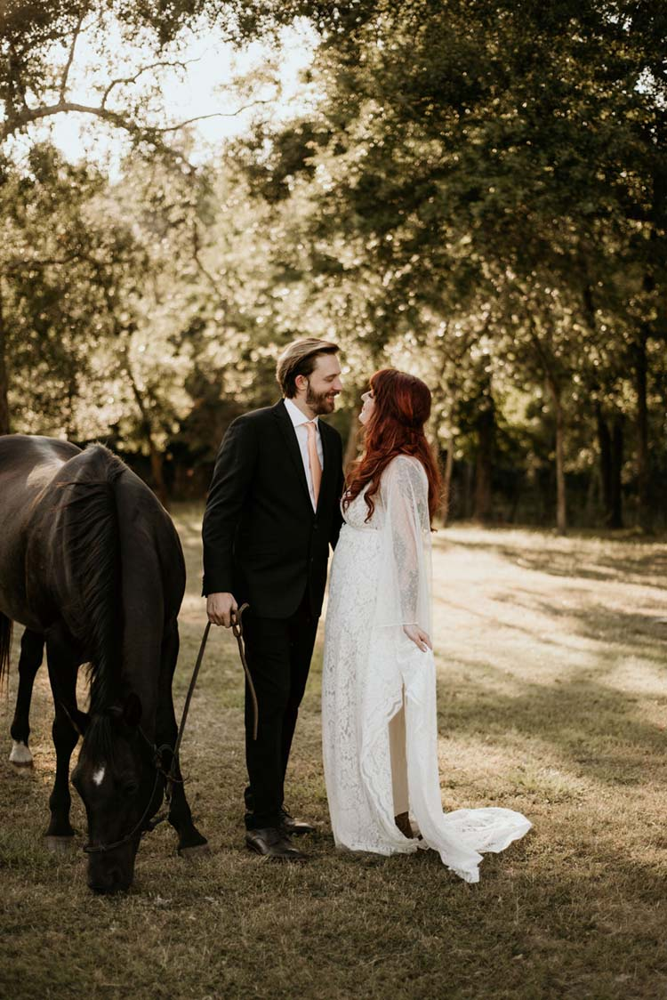 Boho Ranch Wedding with Equestrian Inspiration | photo by Shelbi Ann Imagery | featured on I Do Y'all