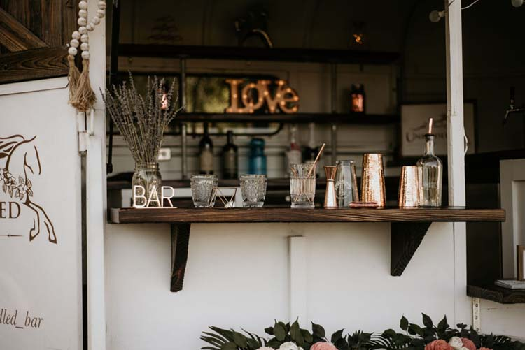 Antique Glasses at Boho Ranch Wedding | photo by Shelbi Ann Imagery | featured on I Do Y'all