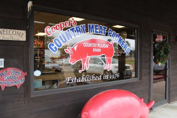 Country Pleasin' Butcher Market in Florence, MS | The team at Country Pleasin' helps couples plan their DIY wedding menu