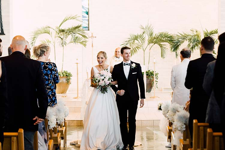 Traditional Wedding Ceremony | photo by Madison Hope Photography | featured on I Do Y'all
