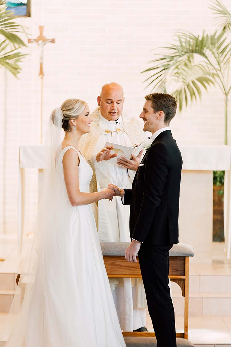 Traditional Catholic Wedding Ceremony | photo by Madison Hope Photography | featured on I Do Y'all