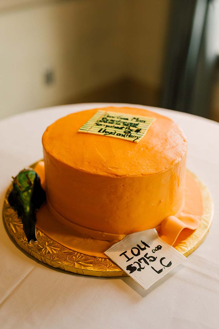 Dumb & Dumber Groom's Cake | photo by Madison Hope Photography | featured on I Do Y'all