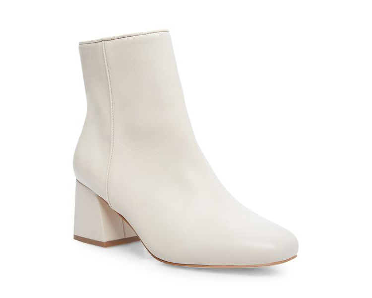 White Wedding Booties from Steve Madden