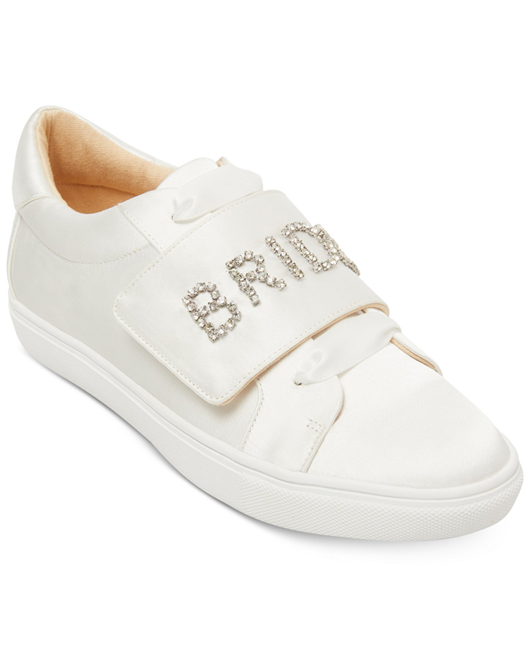 Bride Wedding Sneakers from Blue by Betsey Johnson via Macy's