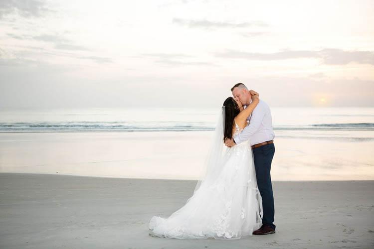 Sunrise Beach Elopement | photo by  Dreamscape Photography, LLC