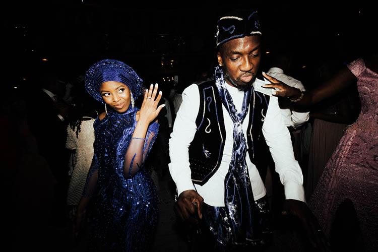 Glamorous Wedding with Nigerian Influence | photo by The Portos