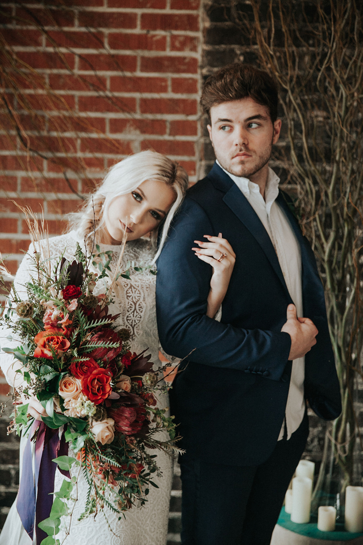 Moody Brewery Elopement Inspiration | photo by Deltalow