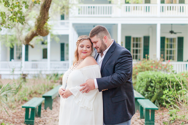 Sweet Historic Home Engagement Photos at Swift-Coles Historic Home | photo by Anna Filly Photography