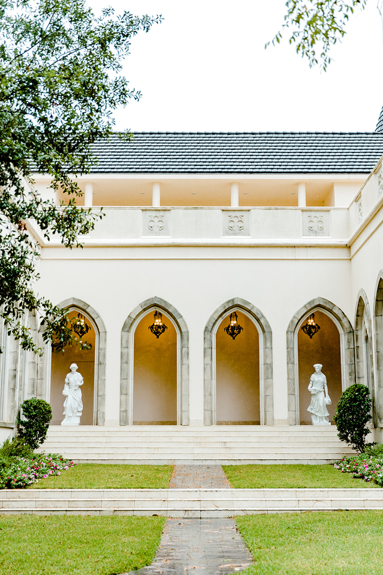 European Inspired Wedding Venue in Texas | photo by Gricelda's Photography