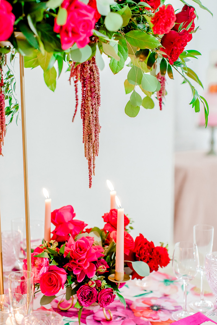 Pink Wedding Style with Awe-Inspiring Florals | photo by Gricelda's Photography